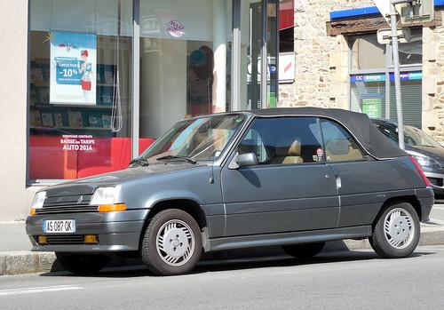 Renault 5 Cabriolet   by Spottedlaurel