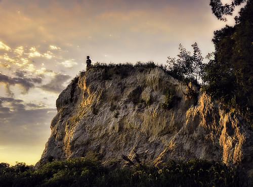 boy sunset summer sky orange cliff youth landscape golden rocks child dusk hill maryland foliage bluff cliffface reflectedlight geologicalformation carrollcountymaryland bestcapturesaoi elitegalleryaoi zunikoff enteredinsyb