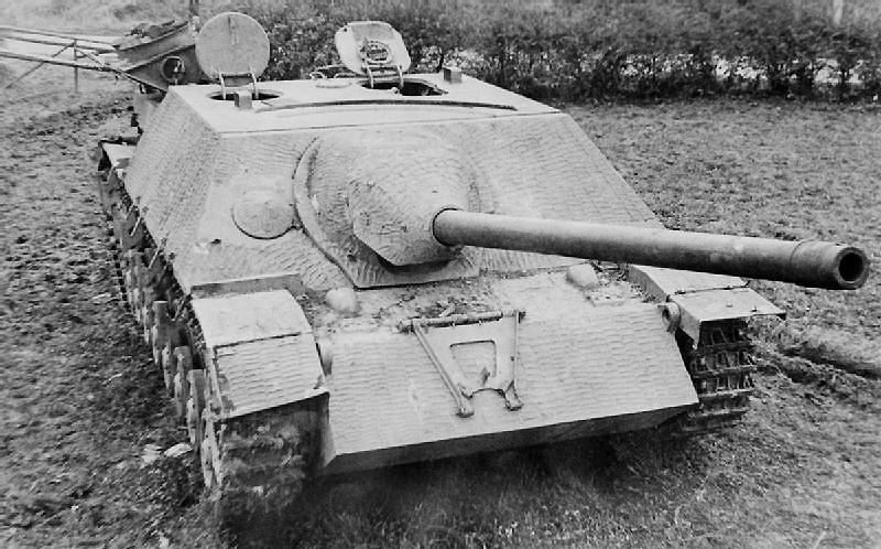 Jagdpanzer IV/70とツィメリットコーティング