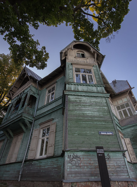 Wooden house Kipsala
