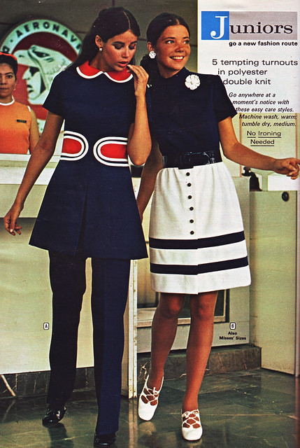 Wards 72 ss striped skirt