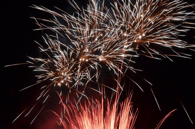 Röder Feuerwerk Testschießen 2013