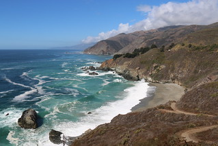 Beach along Big Sur | by USFWS Pacific Southwest Region