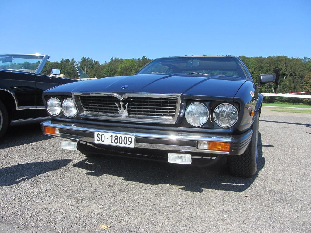 Maserati Kyalami 4.2L, 1977 | Only 200 Kyalami were built ...