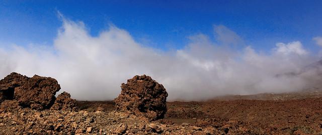 Spain Tenerife - Die Caldera des Pico del Teide