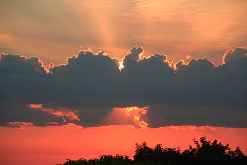 paraguay asunción sunset atardecer