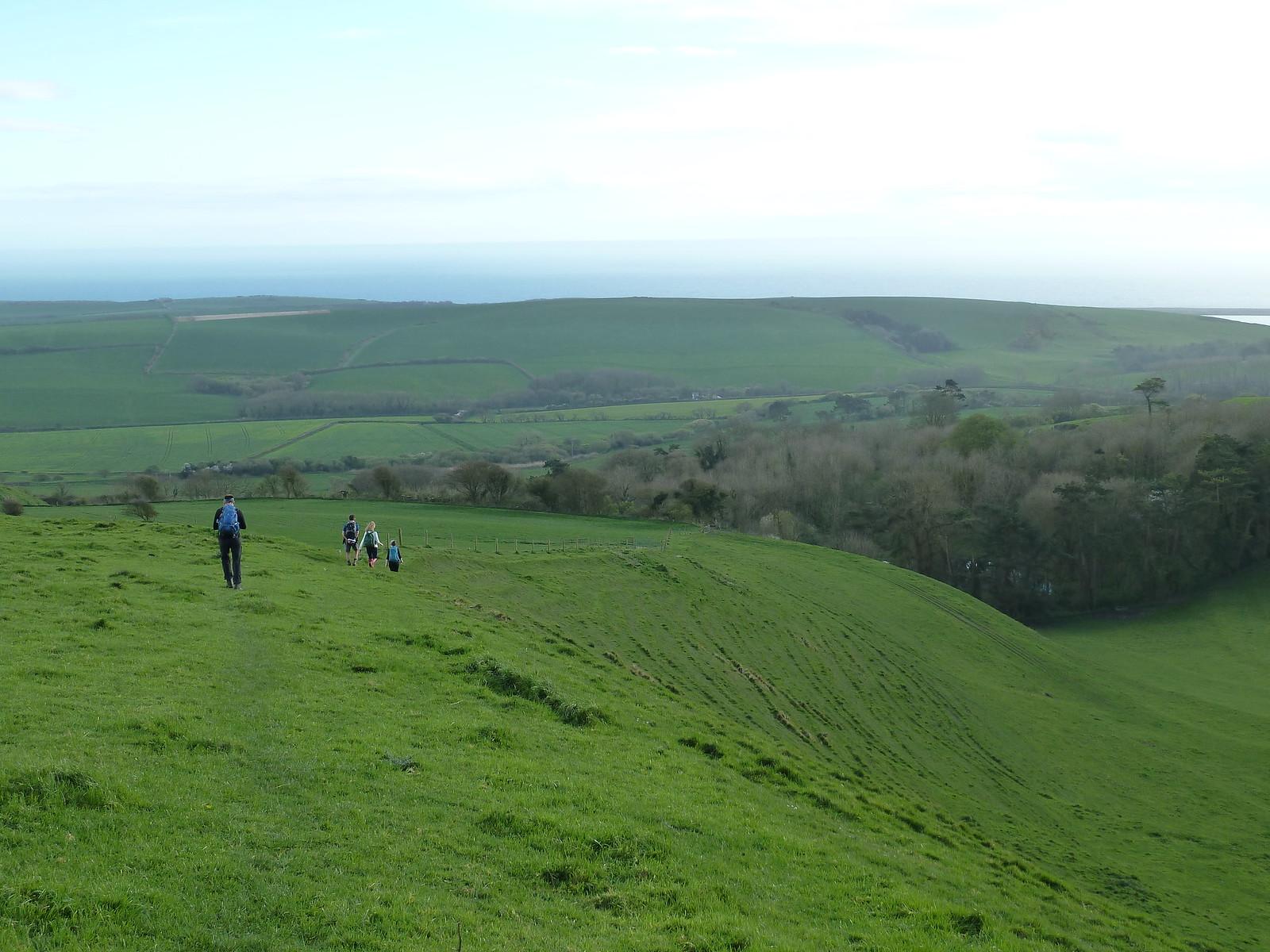 photo from walk South Dorset Ridgeway - swcwalk275.
