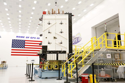 GPS III in Production | by Lockheed Martin