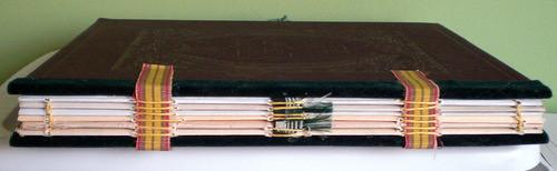 2011 Art Journal Spine
