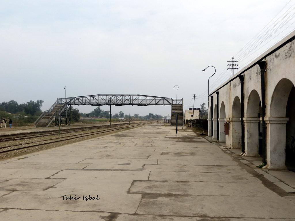 Railway Station Khushab Punjab | Copyright © 2014 Tahir Iqba