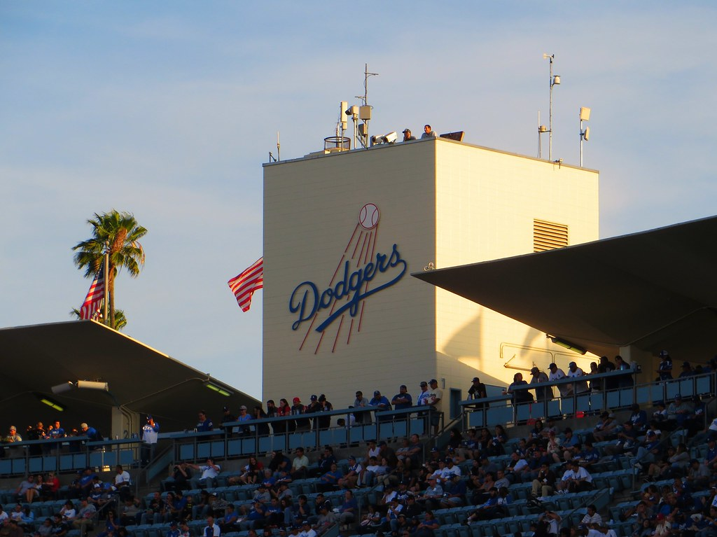 St  Louis Cardinals 0, Los Angeles Dodgers 0, Dodger Stadi