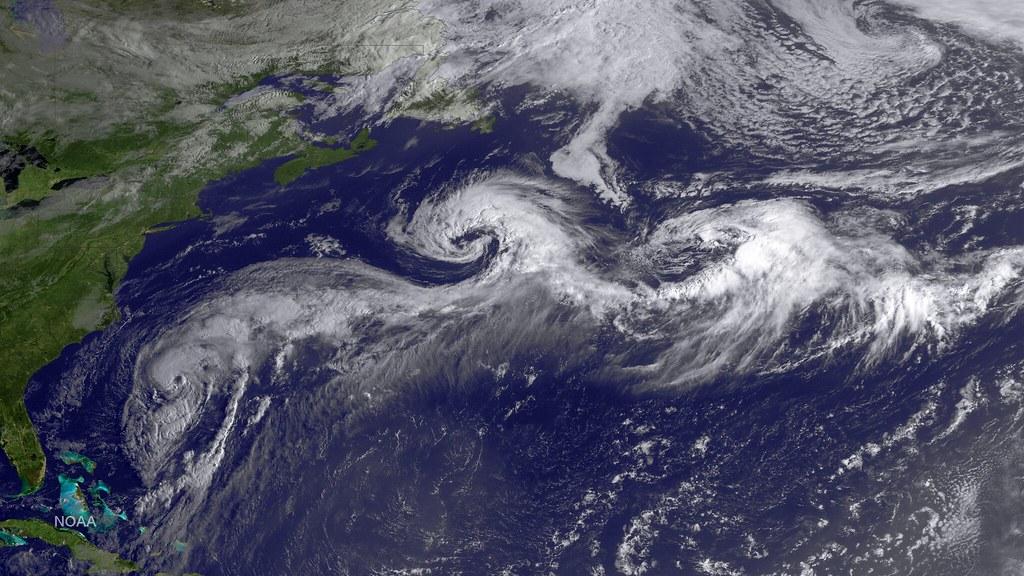 Hurricane Cristobal in the Atlantic