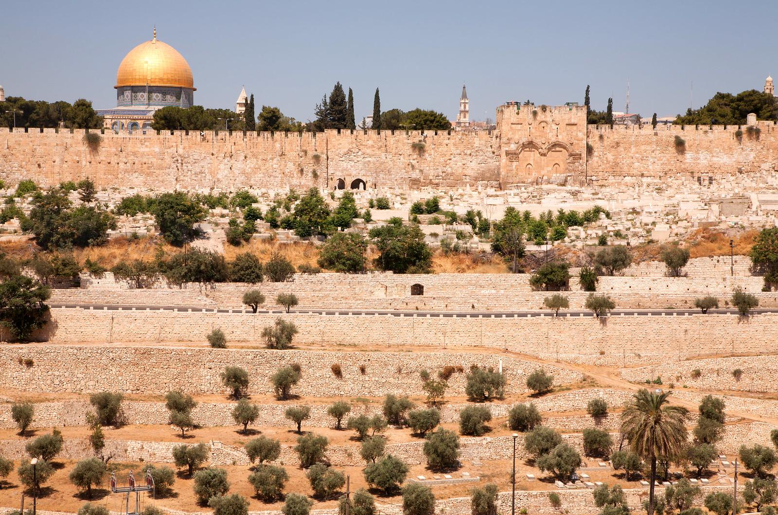 Jerusalem_View to the Temple Mt_Noam Chen_IMOT