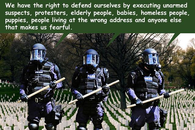 Do Not Frighten The Policeman
