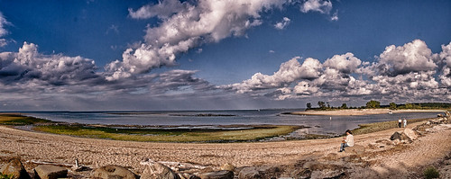 panorama newyork beach water clouds unitedstates longisland sunkenmeadow kingspark longislandsound smithtown thebluff colorefxpro