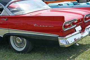 1958 Meteor Rideau 500 tail