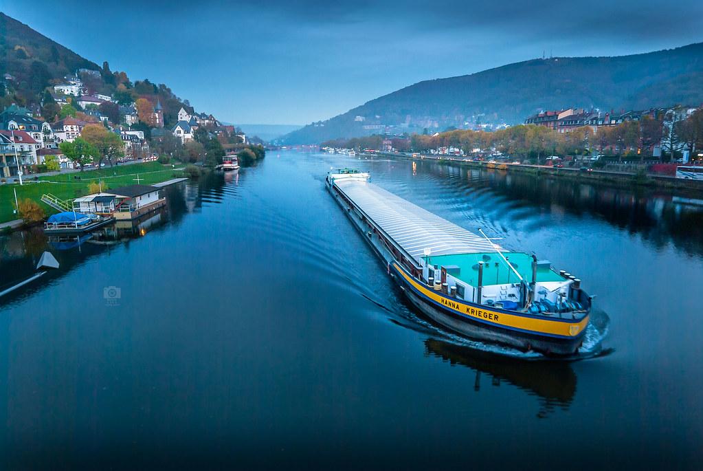 Blue hour Heidelberg II