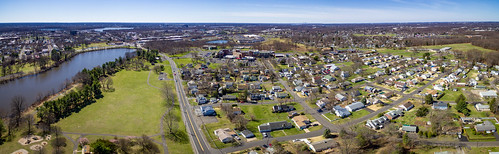 bristol pennsylvania phantom3 sethjdeweyphotography aerial drone panorama spring