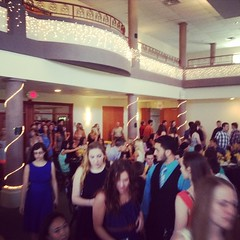 Seniors arrive for Banquet!! #seniors #celebrate