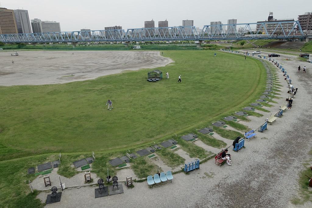 六郷 土手 ゴルフ 練習 場