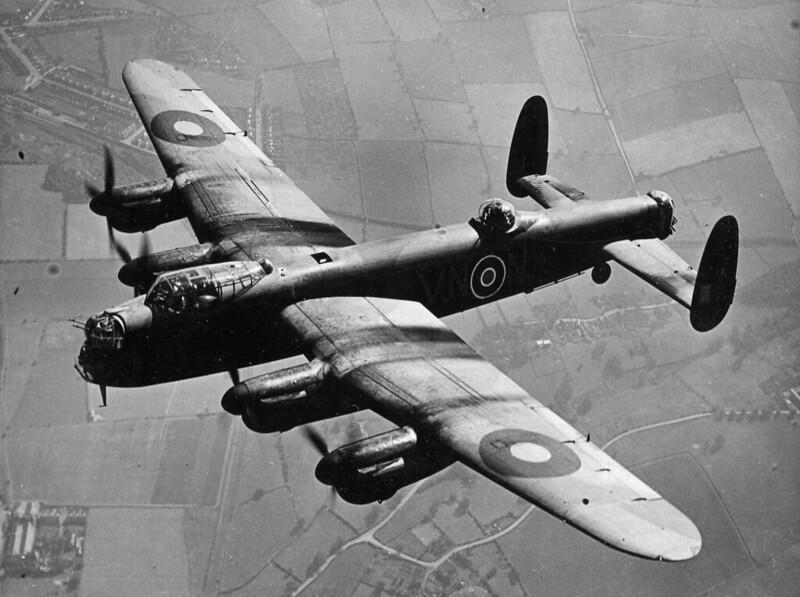 """British Bomber """"Lancaster» (Avro 683 Lancaster)"""