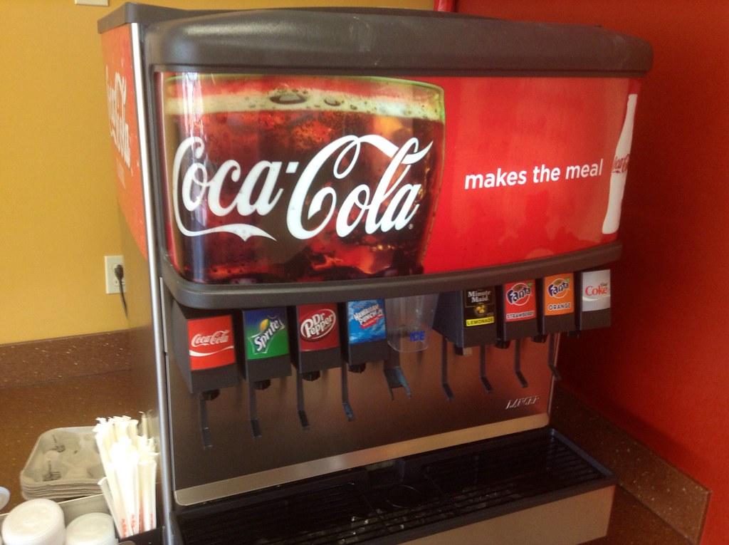 Coca Cola Drink Fountain Dispenser Quot Coca Cola Makes The Me