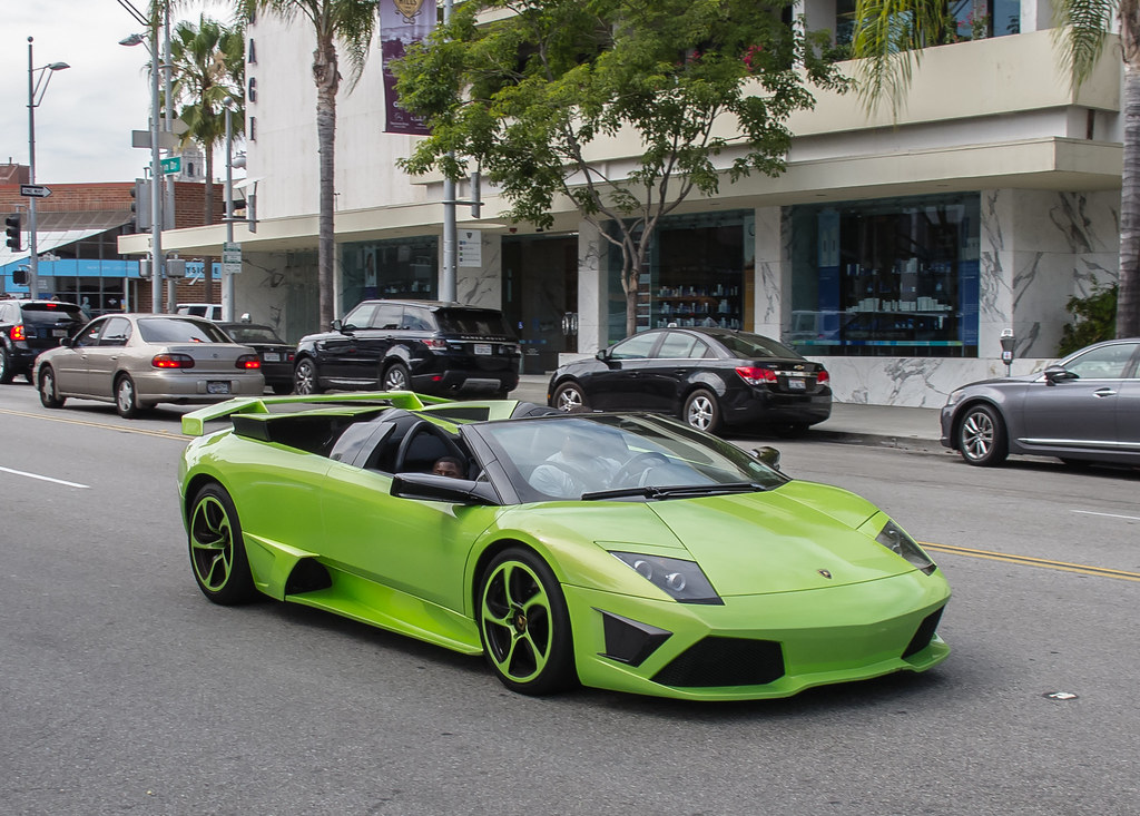 Lamborghini Murcielago Lp640 Roadster Spotted This Lp640 R Flickr