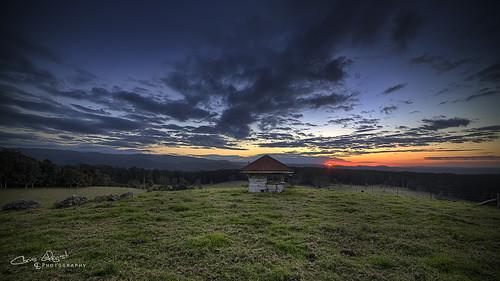sunset house landscape shed australia queensland hdr goldcoast canon1740l canon5dmklll