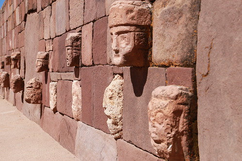 Tiwanaku's heads | by f514nc0