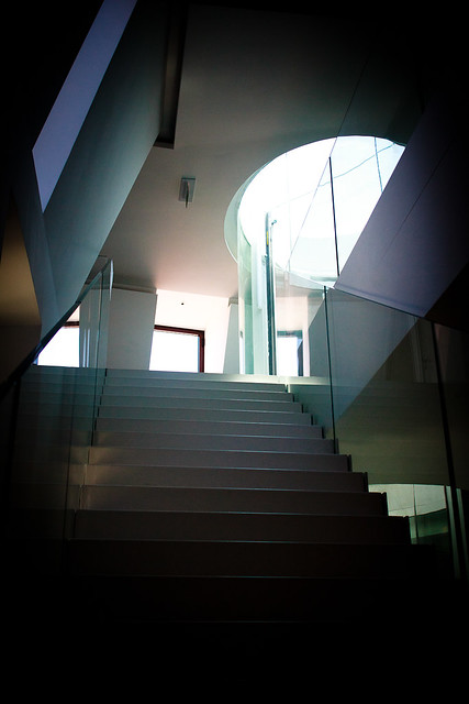 stairs to light