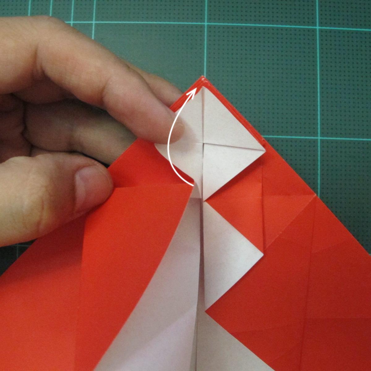 การพับกระดาษเป็นรูปสัตว์ประหลาดก็อตซิล่า (Origami Gozzila) 016
