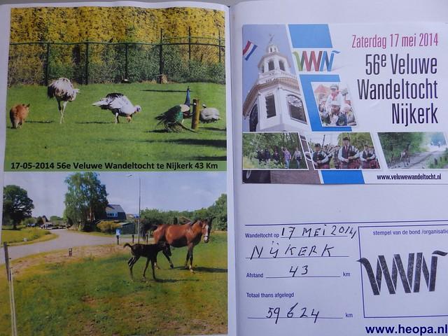 17-05-2014 Nijkerk 43Km (134)