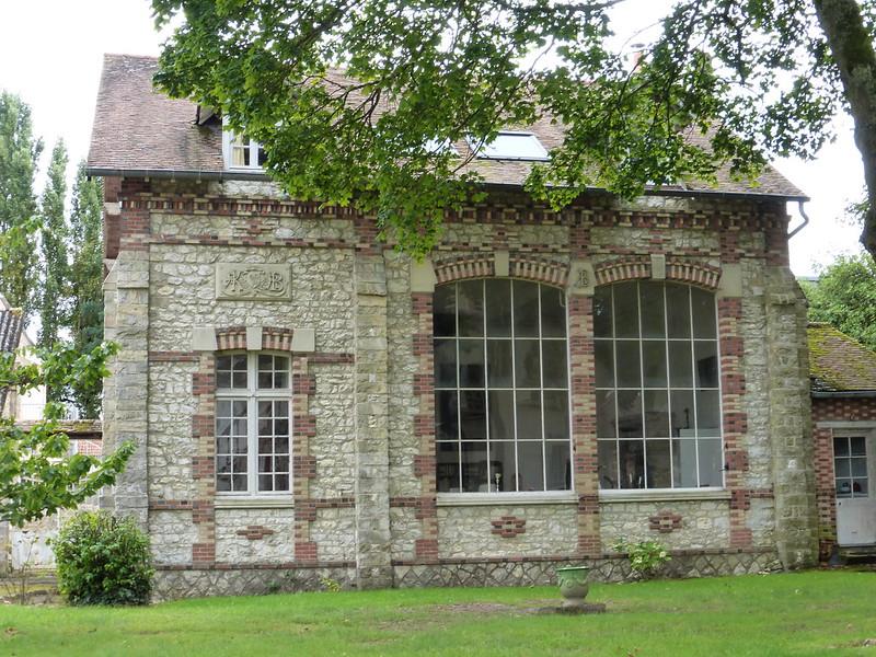 Thomery: le château de By, résidence et atelier de Rosa Bonheur