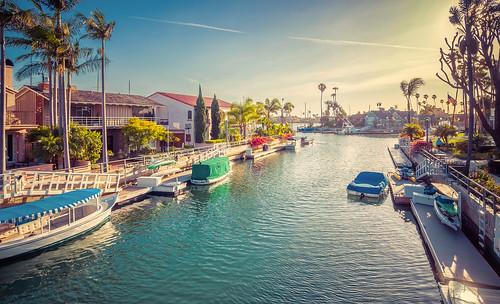 california sunset boats harbor canals longbeach naples m43 naplesisland belmontshores mirrorless microfourthirds meeyak olympusepl5 pwpartlycloudy