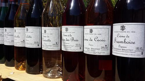 Edmond Briottet Liqueur Bottles | by Fareham Wine