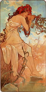 Les Quatre Saisons - Été (Summer) by Alfons Mucha (1896) | by Swallowtail Garden Seeds