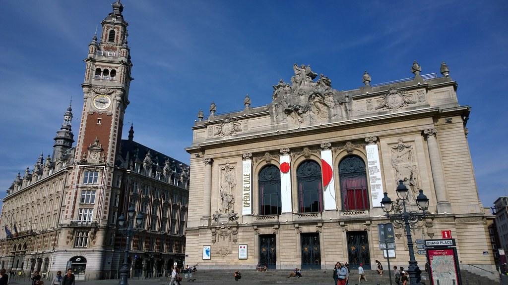 Chambre de commerce et Opéra