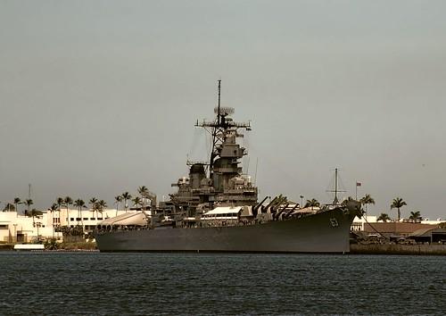 Battleship MIssouri Pearl Harbor - restyle