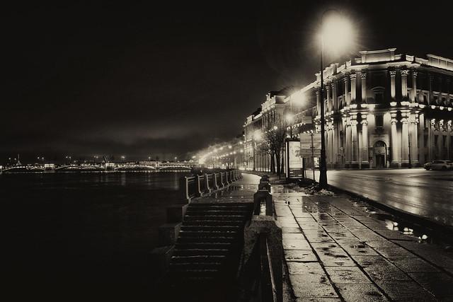 Night River Bank - Берег ночной реки