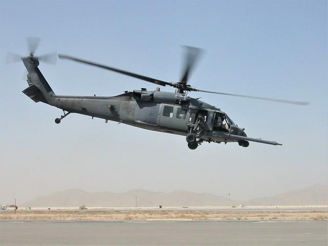 HH-60G Pave Hawk 89-26196/- USAF. Kandahar, Afghanistan. January 2011.