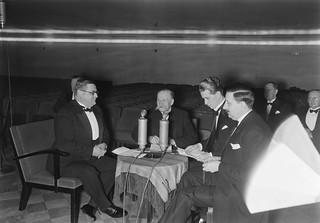 Foreign Minister Eljas Erkko and Presidentti Kyösti Kallio, 1939.