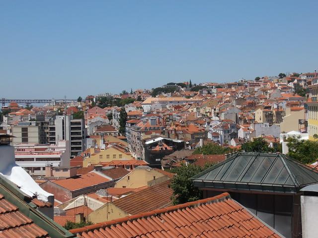 Lisbonne, Portugal, roofs