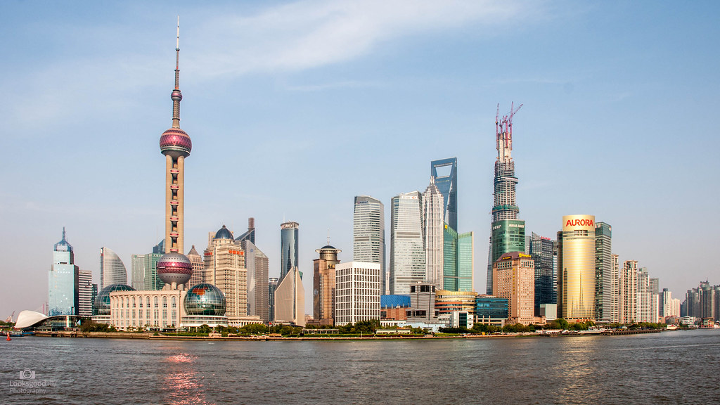 Shanghai Skyline 4k Wallpaper Desktop Background Flickr