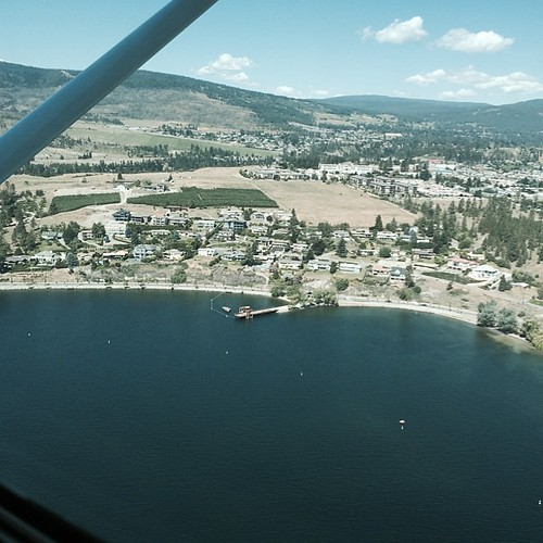 Kelowna area from the air! #greatwesternadventure2014 | by mnotta