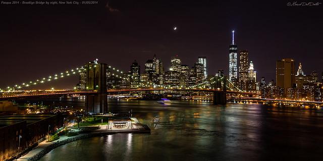 Brooklyn Bridge by night...