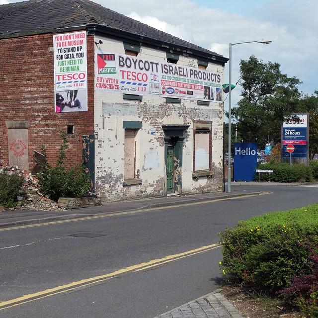 Small World ~ Gaza Conflict in Lancashire UK (1)