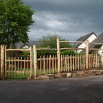 Rustic fence & gate
