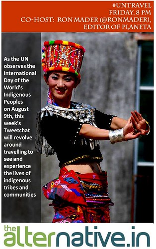 Friday, August 8 #untravel #ipw4 Tweetchat on Indigenous Travel