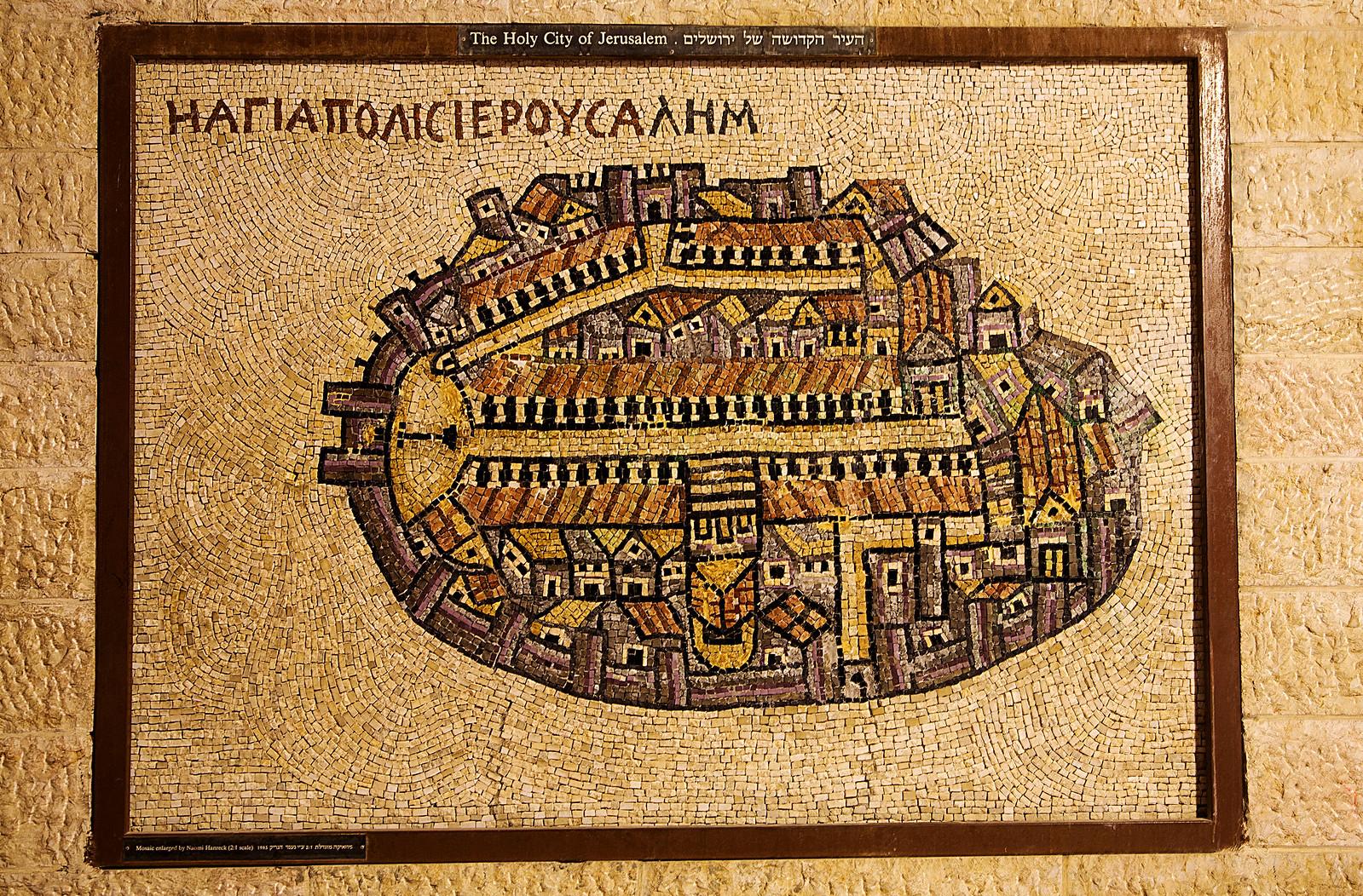 Jerusalem_Cardo_Midba map_Noam Chen_IMOT
