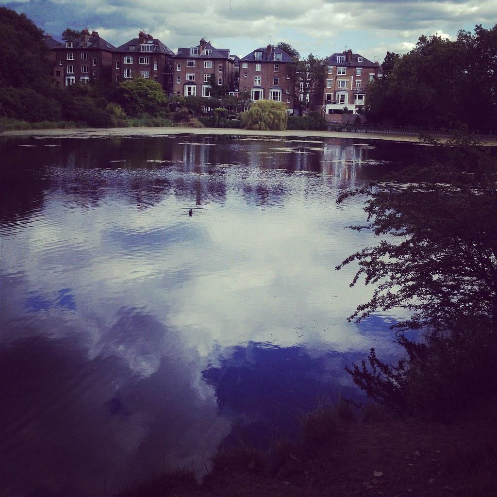 Cloud in the pond. #hampsteadheath | Jami Lashbrook | Flickr
